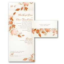 Autumn Rustic - Seal 'n Send Invitation
